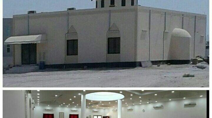 ترميم المساجد واصلاح المقابر